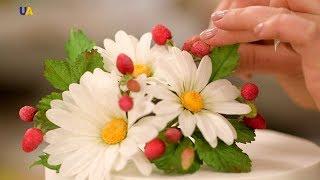 Сахарные и вафельные цветы Олеси Голумбевской  | Мастер дела