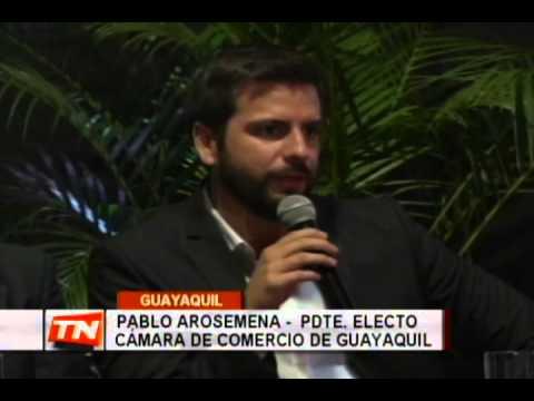 Designan a nuevo directorio de la cámara de comercio de Guayaquil