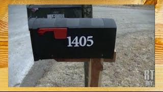 """Installing A """"no Dig"""" Mailbox ~ Rick's Tips Diy"""