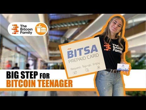 Big Step For Bitcoin Teenager