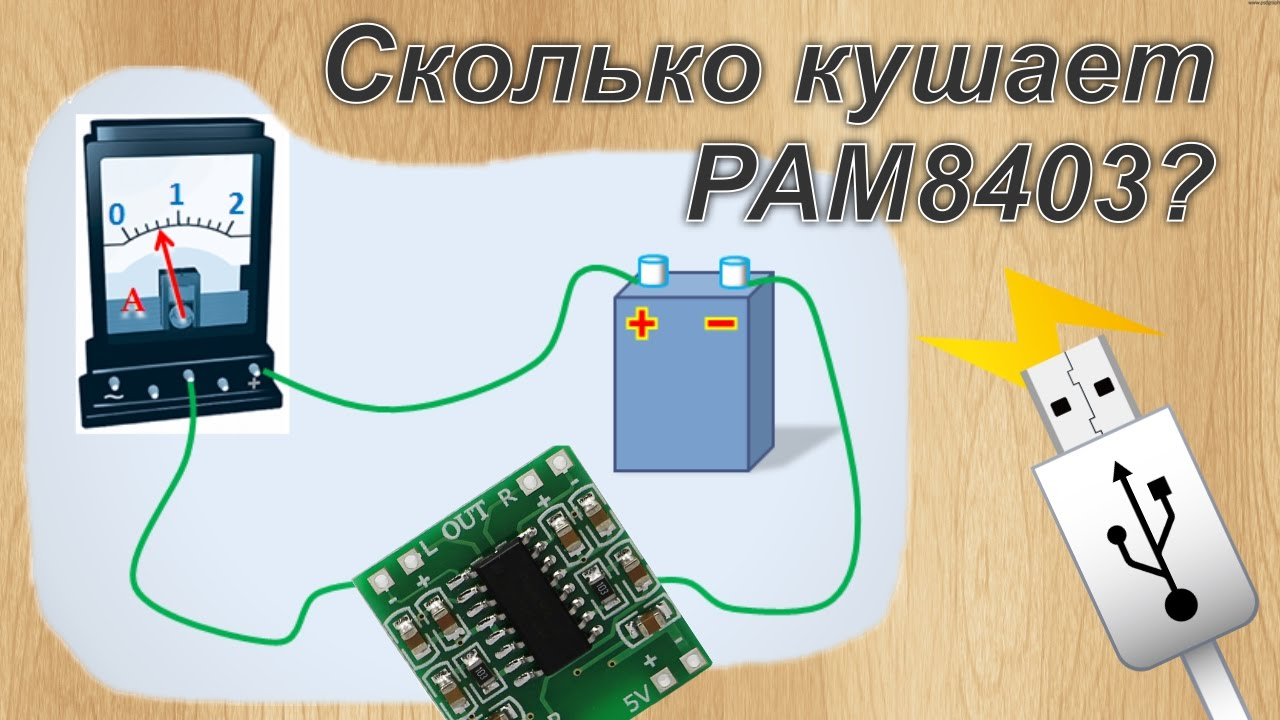 Pam8403 доработка