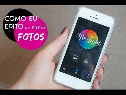 Como edito minhas fotos   Afterlight, Camera 360 e mais!