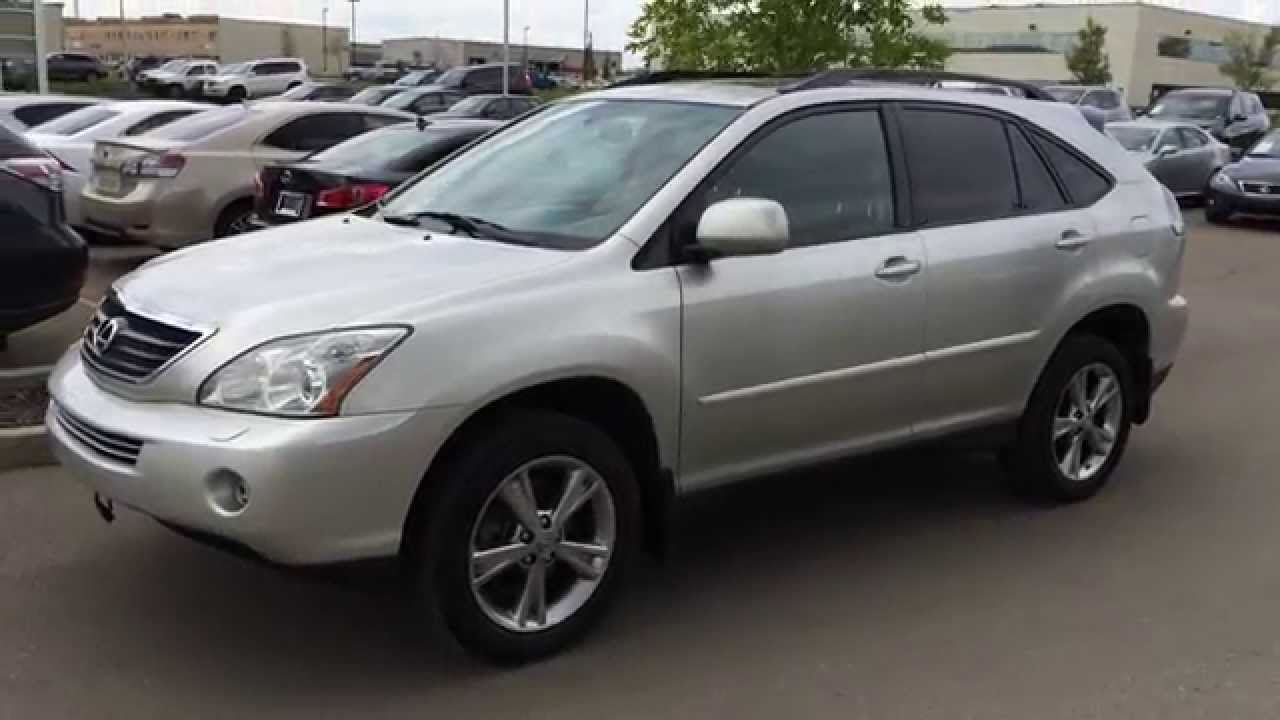 Lexus Pre Owned >> Pre Owned Silver 2006 Lexus RX 400h 4dr Hybrid SUV - Sherwood Park, Edmonton - YouTube