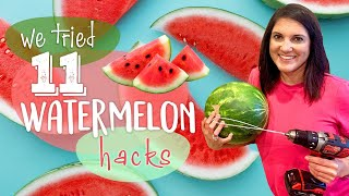 We Tested 11 Wateŗmelon Hacks…Which Ones Actually Work? | We Tried It | MyRecipes