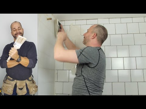 How To Grout A Shower using Mapei Keracolor