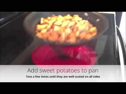 How to Quickly Cook Sweet Potatoes - YouTube