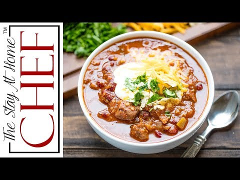 How to Make Instant Pot Chili | The Stay At Home Chef