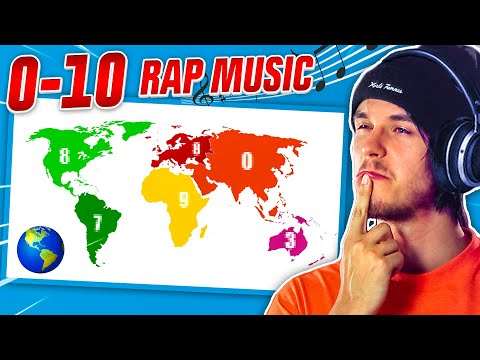 Rating Rap Music Around The World From 0-10