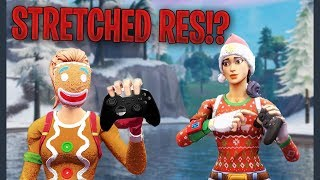 How To Get Stretched Resolution For (PS4 & Xbox) Fortnite!