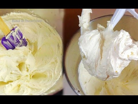 Buttercream Frosting Recipe For Decorating/ How To Make Buttercream Icing By (HUMA IN THE KITCHEN)