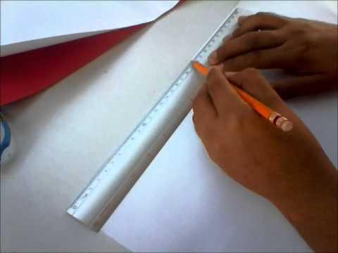 Álbum con papel corrugado - ♥ RebeccaBluu - YouTube