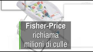 Fisher-Price richiama 5 milioni di culle