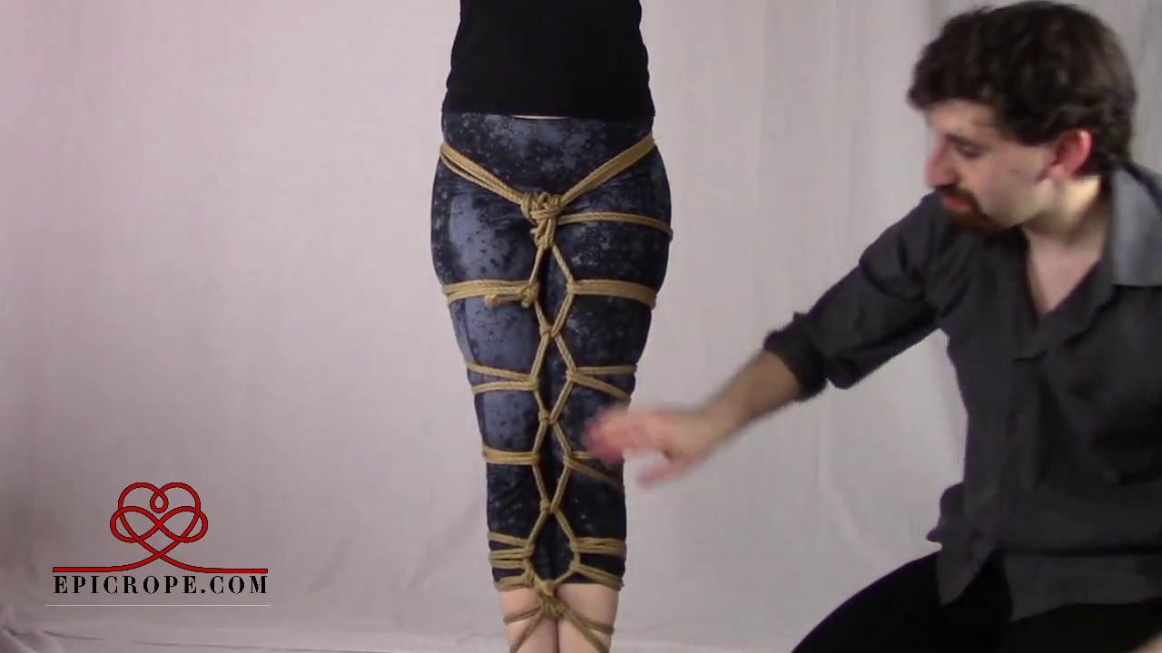 Double rope bondage techniques