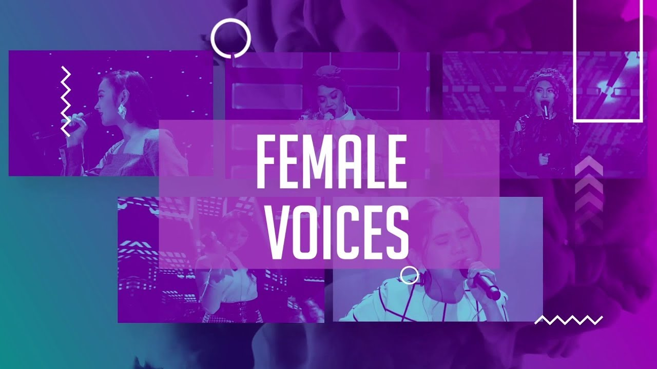 FEMALE VOICES TOP 14 (PART 2) - INDONESIAN IDOL 2020 - YouTube