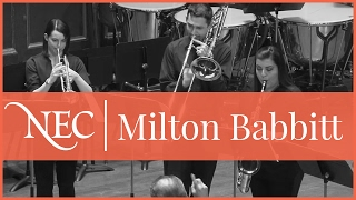 NEC Wind Ensemble - Milton Babbitt: All Set