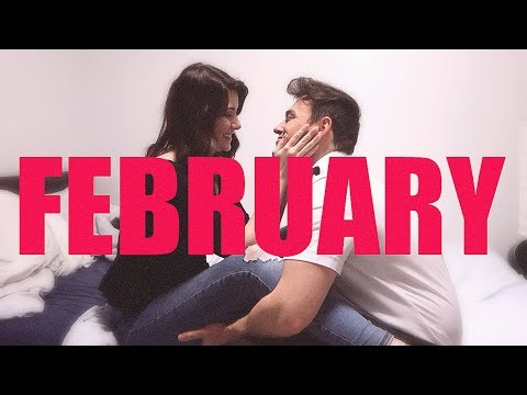 The one where I move in with him | FEBRUARY MONTHLY VLOG