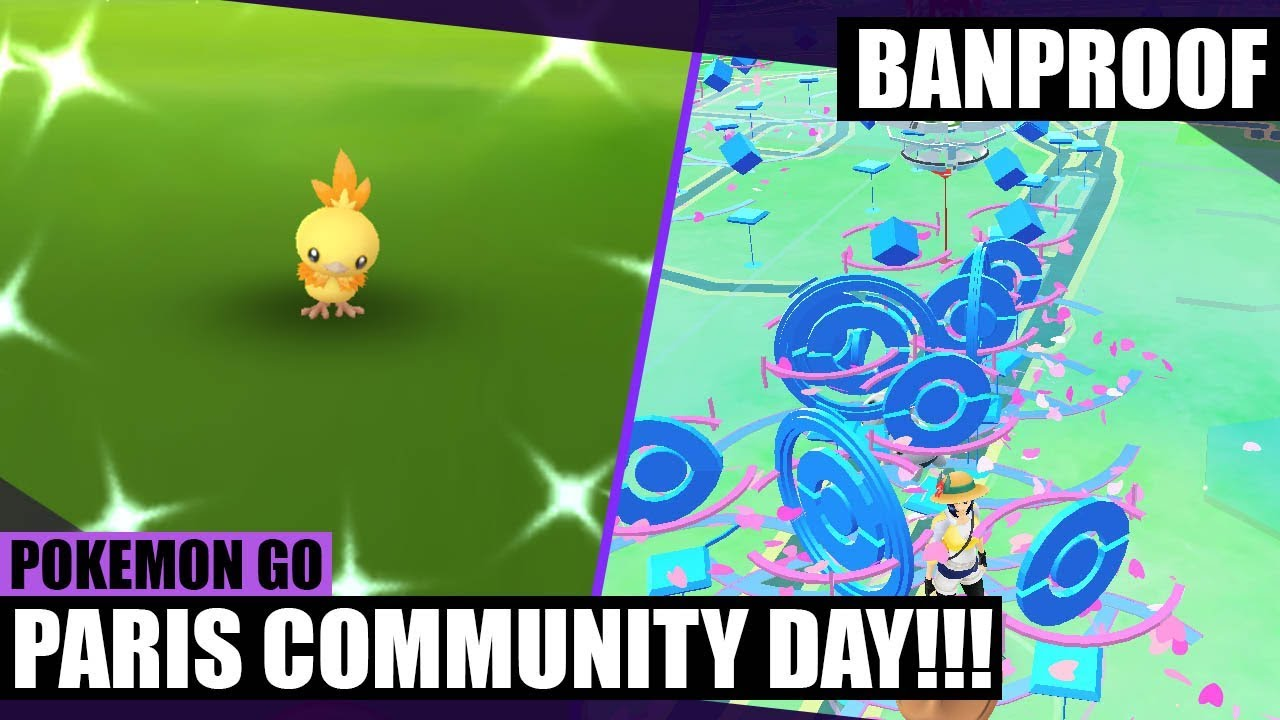 Paris Mall: Torchic Community Day!!! – Moms and Neighbors