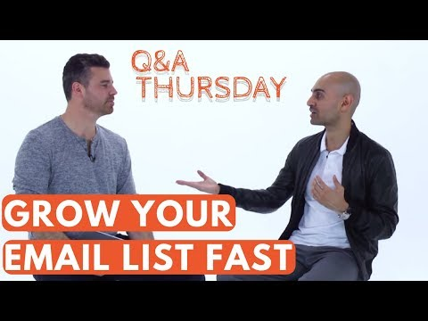 6 Breakthrough Email Marketing Tips to Grow Your Subscriber List FAST thumbnail