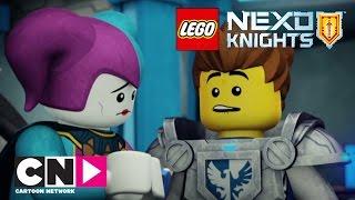 Книга монстров, часть 1 (серия целиком) | Nexo Knights | Cartoon Network