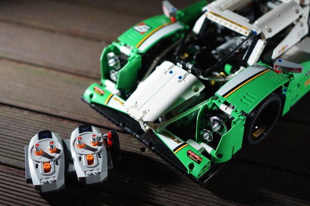 LEGO Technic 42039 FULL RC Motorized Race car by 뿡대디 - YouTube