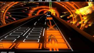 (Audiosurf #2) Here Comes The Hotstepper  (Evian remix by Yuksek)