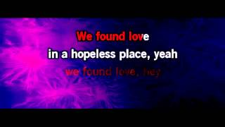 We Found Love Karaoke - Rihanna - Jessie J Version