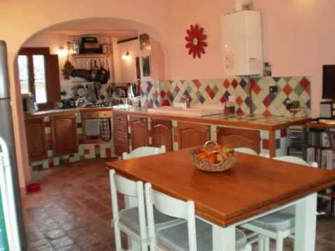 Abruzzo Italy. Stone built village house for sale, medieval mountain village £160,000 furnished