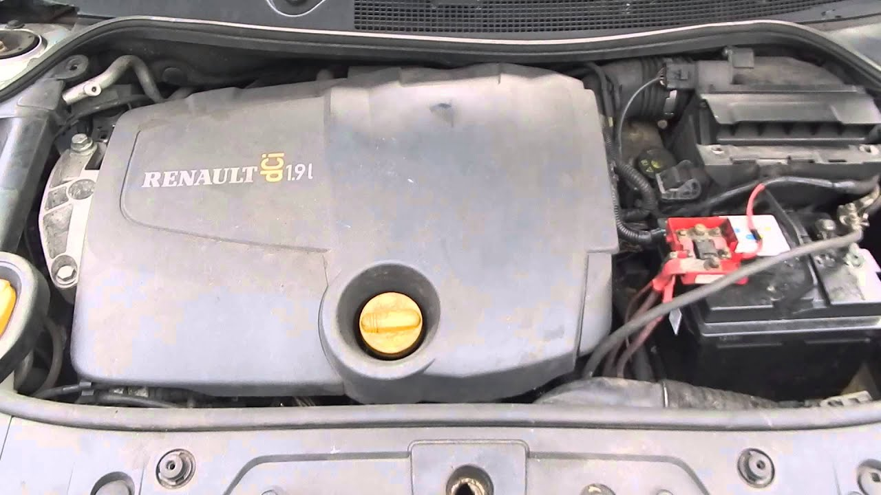 renault megane scenic 1 9 dci engine 120bhp youtube. Black Bedroom Furniture Sets. Home Design Ideas