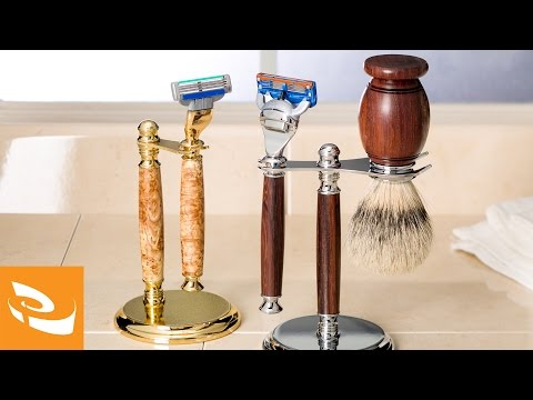 Classic Razor Kits and Stands | Woodturning Projects