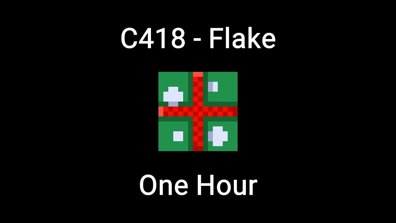Flake By C418 One Hour Minecraft Music Youtube