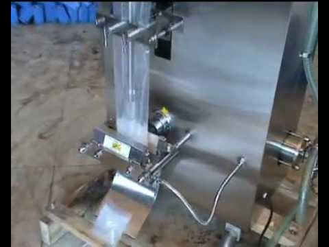 Cxl Titon Automatic Liquid Pouch Packing Machine Youtube