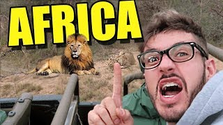 I WENT ON A SOUTH AFRICA SAFARI (VLOG)