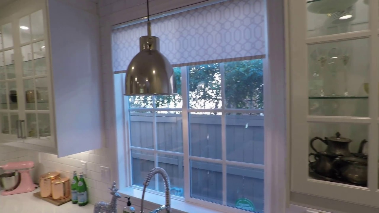 White IKEA Modern Farmhouse Style Kitchen Tour - YouTube