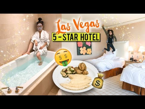 5-STAR HOTEL TOUR in Las Vegas 鈾� Italian Fine Dining Experience