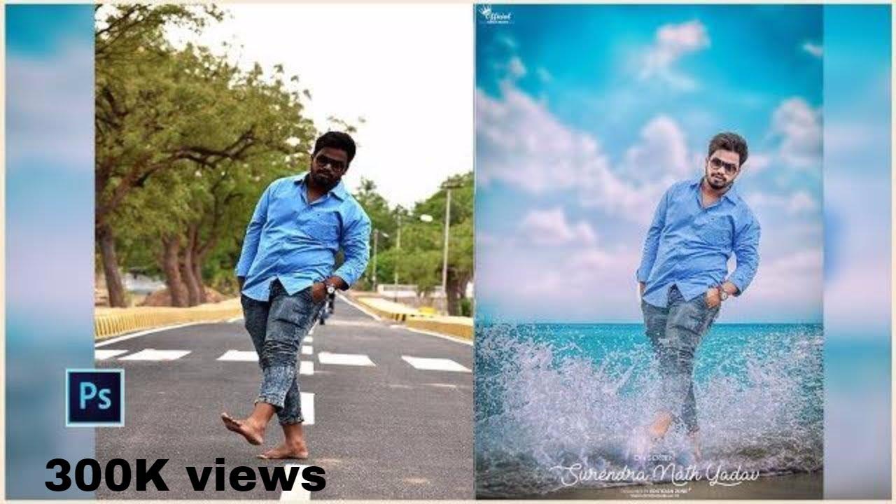 How to edit Sea splash effect VOL 2 | Photoshop Tutorial 2017