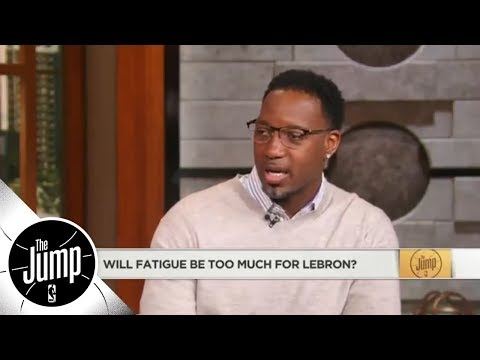 Tracy McGrady understands why LeBron James is 'trying to save pockets of energy' | The Jump | ESPN