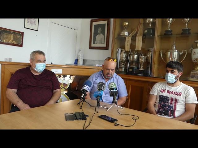 """Patxi Varona, presidente del CD Behobia: """"Es algo que se debería de haber hecho antes"""""""