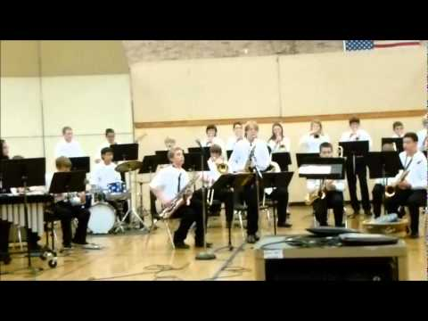 Valley View Middle School Jazz Band Concert - Snohomish