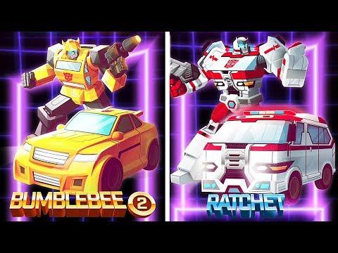 Transformers Bumblebee Overdrive Vs Tracer, Quake, Acid Storm | Eftsei Gaming
