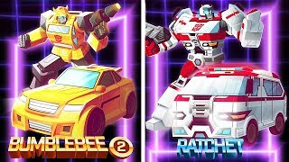 Transformers Bumblebee Overdrive Vs Tracer, Quake, Acid Storm | Eftsei Gaming