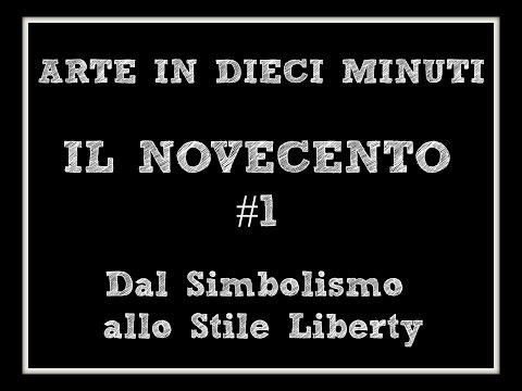 Arte in dieci minuti: IL NOVECENTO: dal Simbolisto allo Stile Liberty (Arte per Te)