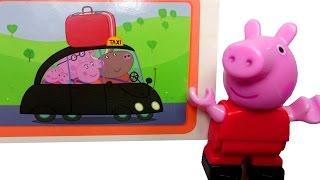 Видео для детей. Свинка Пеппа читает журнал