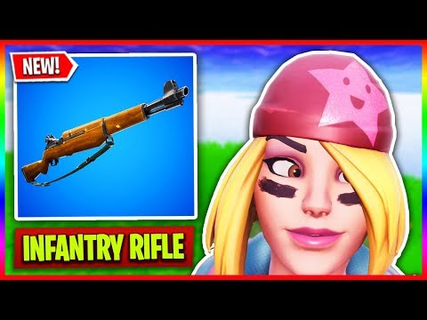 "🔴 NEW Fortnite Valentines Update! ❤️ // ""Infantry Rifle"" Gameplay (Fortnite LIVE Gameplay) thumbnail"