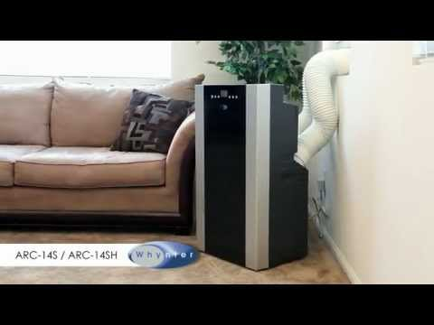 whynter arc14s arc14sh arc143mx portable air conditioner guide