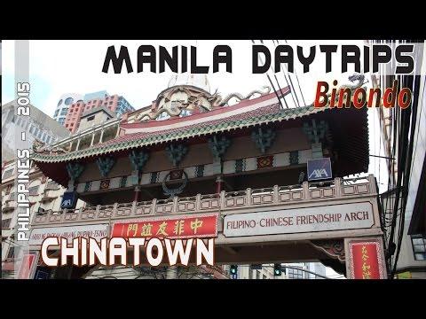 Manila Philippines Binondo Chinatown   Asia Travel VLOG
