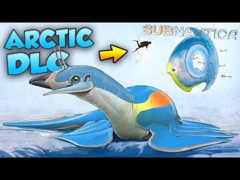 Subnautica Arctic DLC - NEW CREATURES (TITAN HOLEFISH?!) + PS4 ANNOUNCED! | Subnautica News