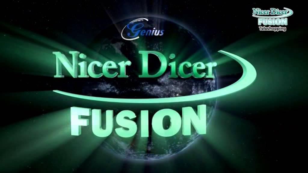 Nicer Dicer Fuison - YouTube