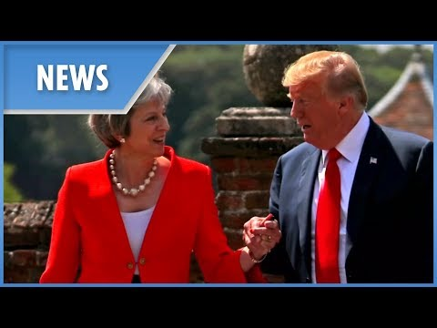 President Trump says Brexit deal makes US and UK trade difficult