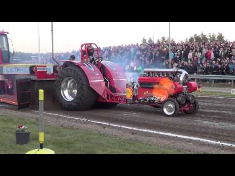 Museums Power, 2500kg Modified at Lidköping City Pull 2014