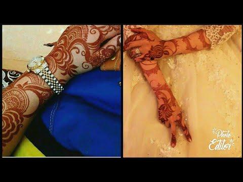 30 Latest Arabic Bridal Mehndi Designs/ New Dubai Style Bridal Mehndi Designs